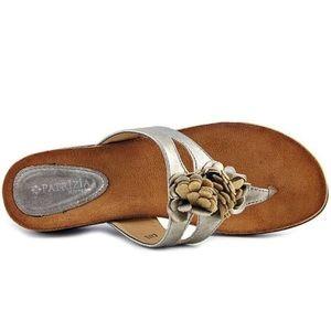 Patrizia By Spring Step Cafe Women Bronze Sandals
